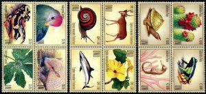 HERRICKSTAMP NEW ISSUES UNITED NATIONS Endangered Species 2018 Blocks of 4