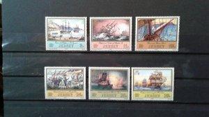 Jersey MNH 300-5 Ships