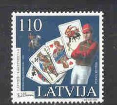 Latvia Sc 487 1999 Blaumanis stamp mint NH