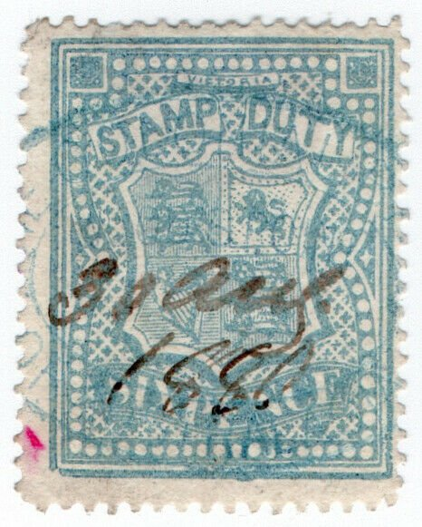 (I.B) Australia - Victoria Revenue : Stamp Duty 6d