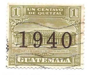 Guatemala 1940 - U - Scott #RA13