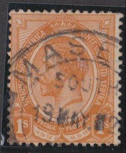 BASUTOLAND 1920s Sth Africa GV 1/- with MASERU cds..........................N397