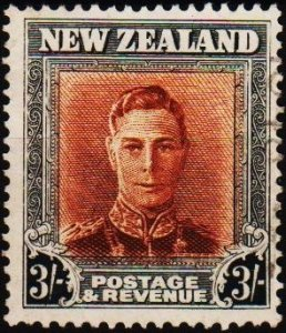 New Zealand. 1938 3s S.G.689  Fine Used