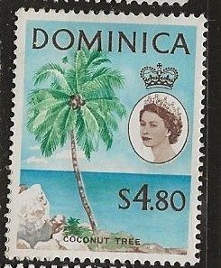 Dominica | Scott # 180 - MH