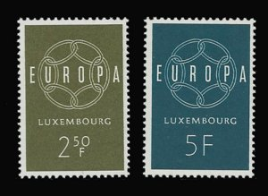 LUXEMBOURG 354-355 MLH