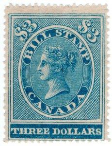 (I.B) Canada Revenue : Bill Stamp $3