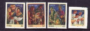 Ireland-Sc#1157-60-unused NH set-Christmas-1998-