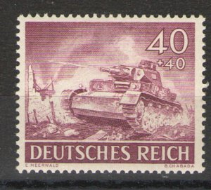 Germany - Third Reich 1943 Sc# B228 MH VG - single from 1943 Hero Memorial set