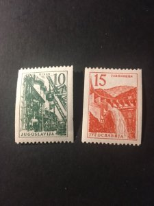 Yugoslavia sc 509,510 MNH