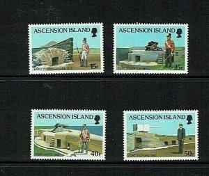 Ascension: 2000 Forts,  MNH set