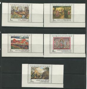 Czechoslovakia #2534-2538 MNH Scott CV. $16.00?