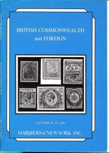 British Commonwealth and Foreign, Harmer NY 2766-67