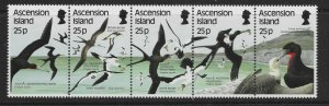 ASCENSION SG442a 1987 SEABIRDS SET MNH