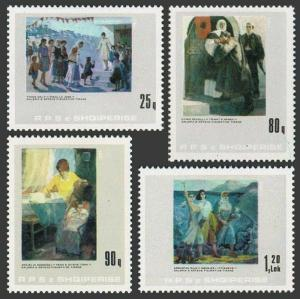 Albania 2177-2180,MNH.Michel 2266-2269. Tirana Gallery of Figurative Art,1985.