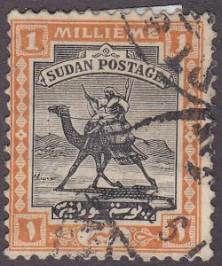 Sudan 29 USED 1922 Camel Post - WMK 179