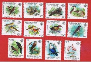 Seychelles(Zil Elwannyen Sesel) #50//65 MNH OG  Birds  Free S/H