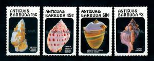 [99624] Barbuda 1986 Marine Life Sea shells OVP Barbuda airmail MNH