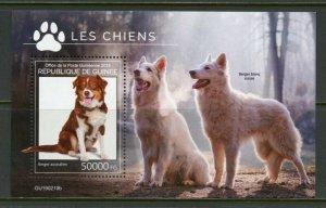 GUINEA 2019  DOGS  SOUVENIR SHEET MINT NEVER HINGED