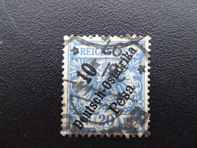 German Offices in East Afrika  1896  Sc# 9  CV 5.25            (B#6)