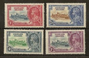 Falklands 1935 Silver Jubilee Mint Set Cat£48