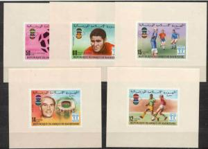Mauritania 375-77,C182-83 MNH s/s Football-78