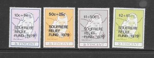 ST VINCENT #B1-4  RELIEF FUND  MNH
