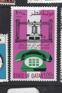 QATAR  (PP2609B)  TELEPHONE  SG 584   MOG