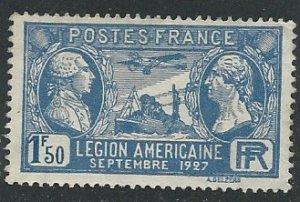 France ||  Scott # 244 - MH