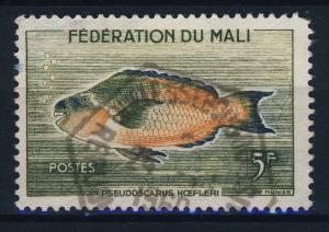 SENEGAL / MALI - 1960 CAD OUELESSEBOUGOU / RÉPUBLIQUE SÉNÉGALAISE sur MALI N°2