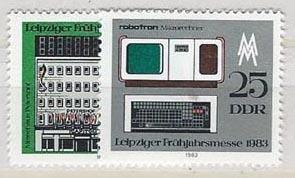German Democratic Republic 2328-2329 (M)