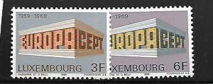 LUXEMBOURG, 475-476, MNH,EUROPA