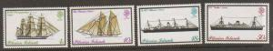 Pitcairn Is #147-50 Mint Hinged