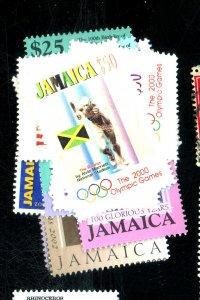 JAMAICA 926-33 960962-5 MINT VF NH Cat $24