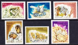 Monaco #1723-28 MNH minerals