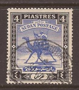 Sudan scott #45 used stock #T1562