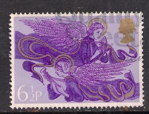 GB 1975 QE2 6 1/2p Christmas Used Stamp SG 993 ( M389 )