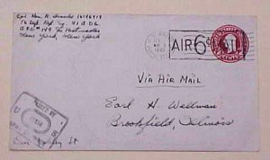 LUXEMBOURG  USAPO 149 MAY 1945 WITH LETTER