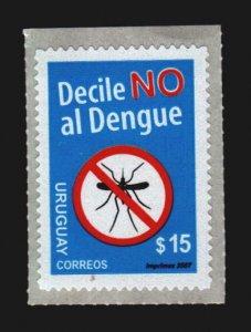 Mosquito insect health Dengue disease medical URUGUAY #2192 self-adhesive stamp