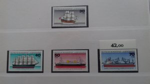 Gernany 1977 Youth Hostel - Ships Mint