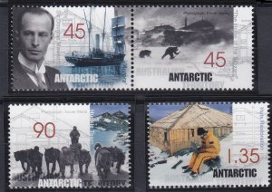 Australian Antarctic Territory L111-L114 MNH (1999)