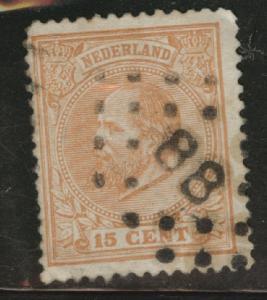 Netherlands Scott 27 used from 1872-1888 set