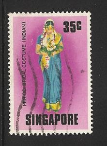 Singapore Used Scott cat.# 258