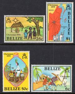 Belize 370-373 MNH VF