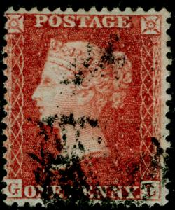 SG29, 1d red-brown, LC14, USED. Cat £22. GL