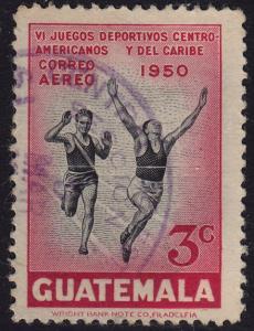 Guatemala - 1950 - Scott #C172 - used - Sport Running