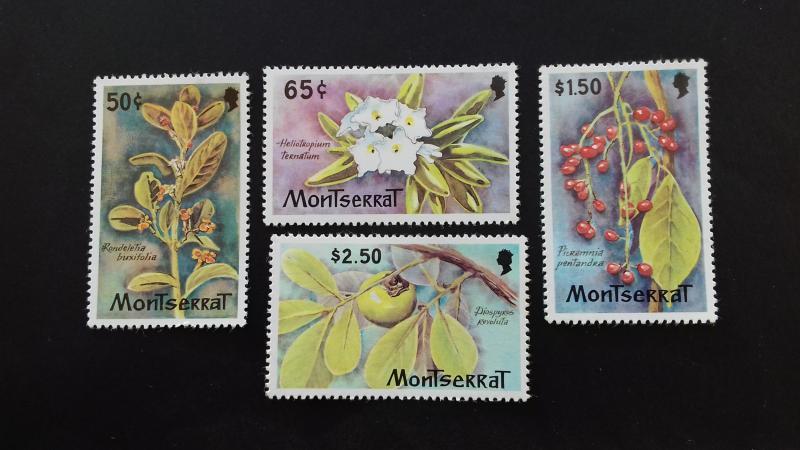 Montserrat 1982 Flowers MLH