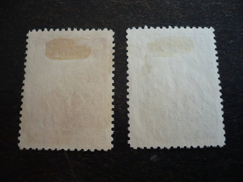 Stamps - Cuba - Scott#441-442  - Used Set of 2 Stamps