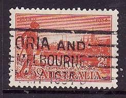 Australia-Sc#142-used 2p vermilion Tribesman-1934-
