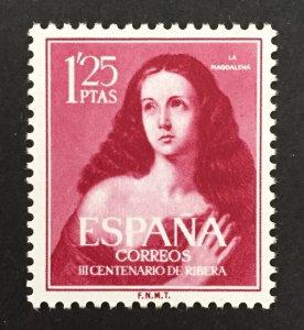 Spain 1952 #798, Ribera, MNH.