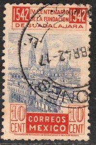 MEXICO 773, 10¢ 400th Anniv of Guadalajara. Used. F-VF. (720)